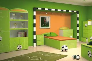 Как оформить детскую комнату в спортивном стиле
