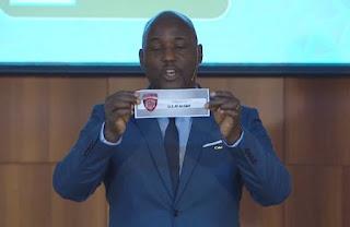قرعة دوري المجموعات لكاس الاتحاد الافريقي 2018