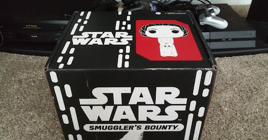 Star Wars Smuggler's Bounty May Unboxing: A New Hope 40th Anniversary