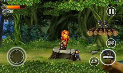 Game Android Soldiers Rambo 2: Forest war