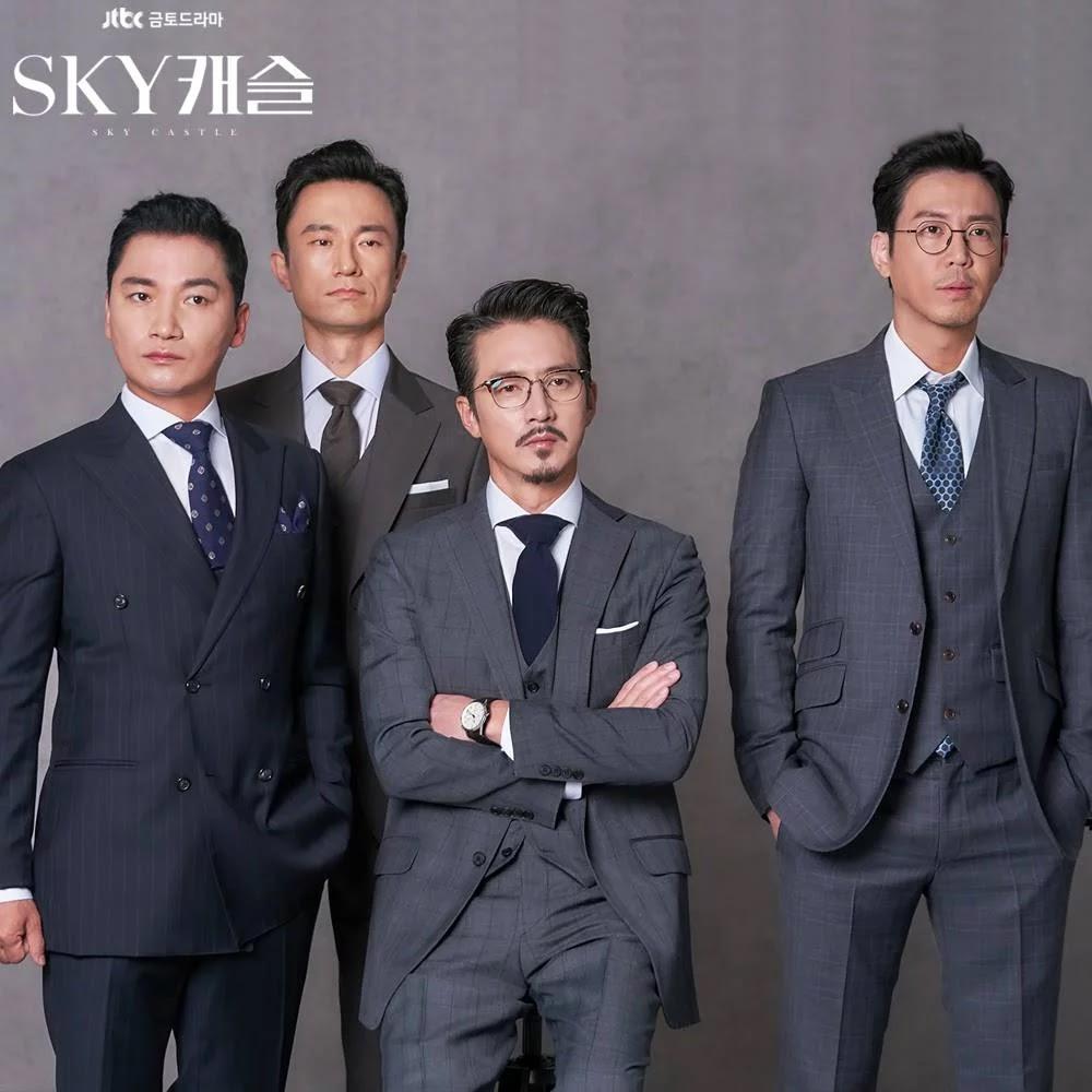 para aktor di drama Sky Castle
