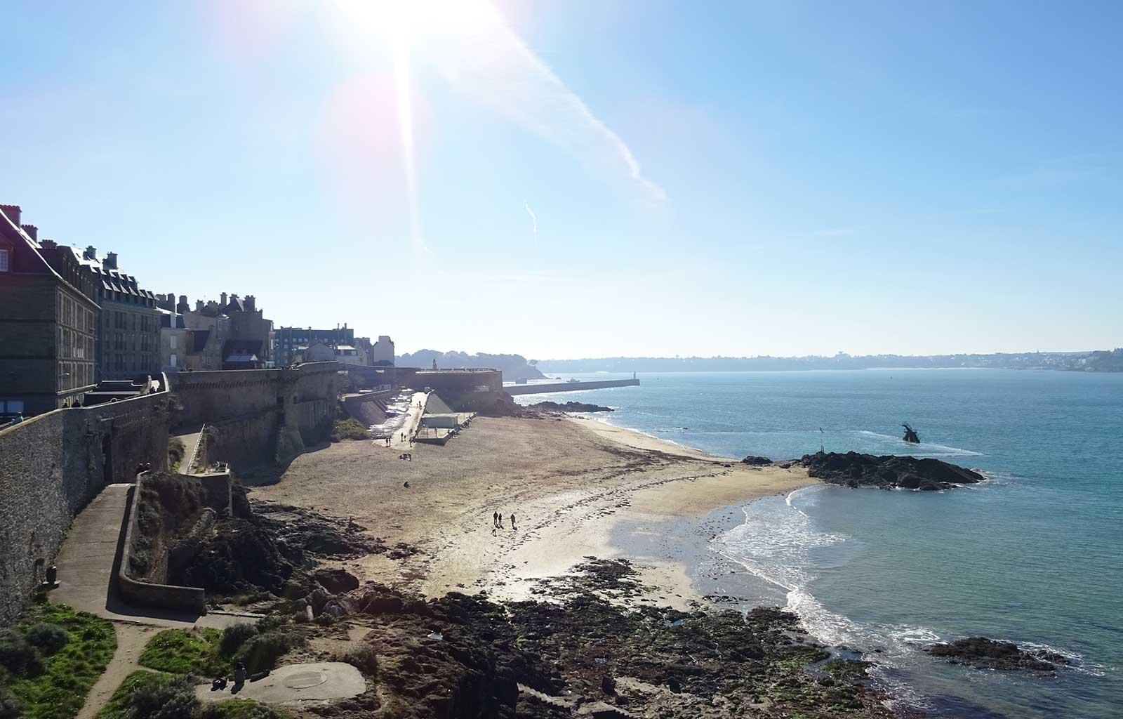 City Guide Saint Malo plage de bon secours