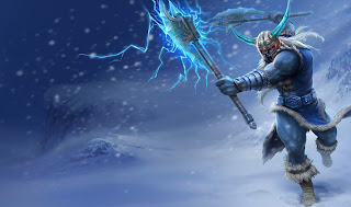 Chinese Glacial Olaf Skin