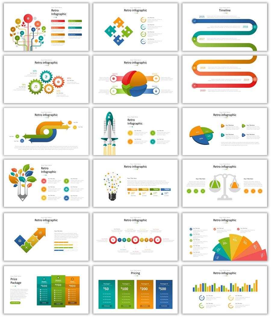 انفوجرافيك جاهز للتصميم