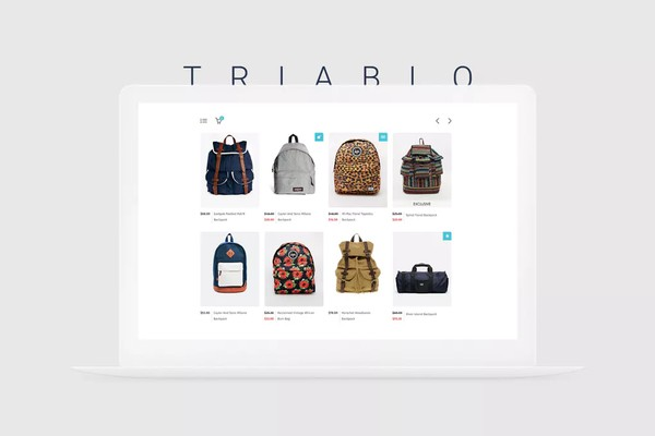 Triablo eCommerce Landing Page Website Templates