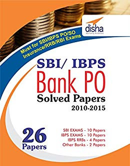 Bank PO Previous Year's Solved Papers by Disha Publication pdf free Download