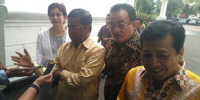 Temui Jokowi, Golkar Sebut Sudah Bahas Pilpres 2019