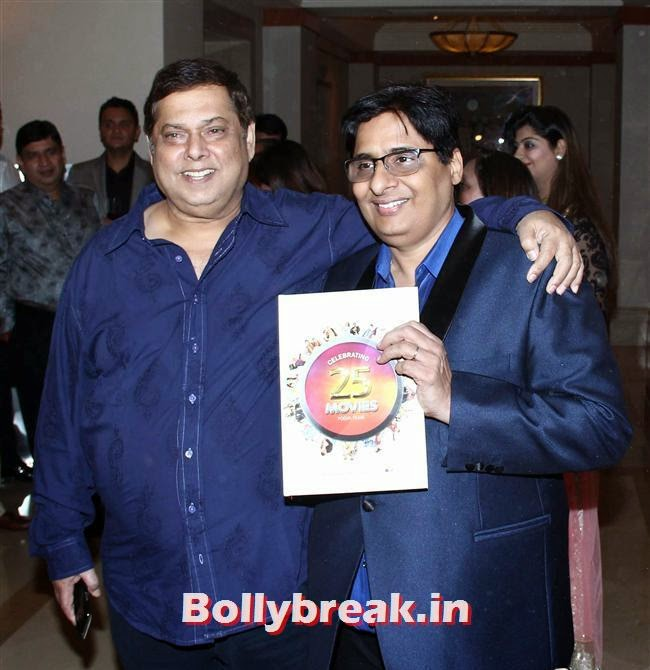 David Dhawan and  Vashu Bhagnani, Vashu Bhagnani's Puja Films 25 Film Completion Party