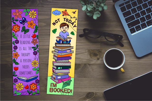 bookmarks with quotes on books and reading