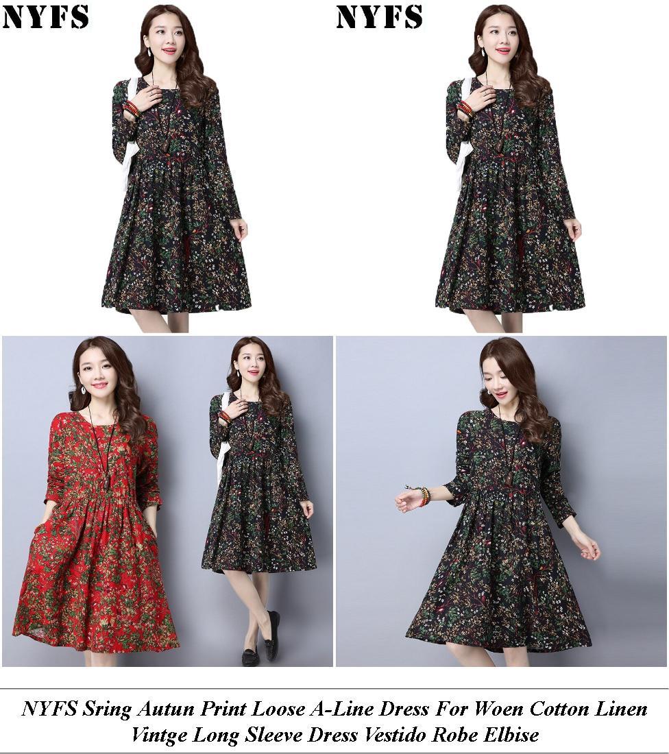 Plus Size Formal Dresses - Clearance Clothing Sale - Shift Dress - Cheap Clothes Uk