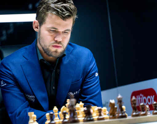 Magnus Carlsen en tête du Norway Chess 2019 - Photo © Lennart Ootes