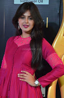 Monal Gajjar in Maroon Gown Stunning Cute Beauty at IIFA Utsavam Awards 2017 002.JPG