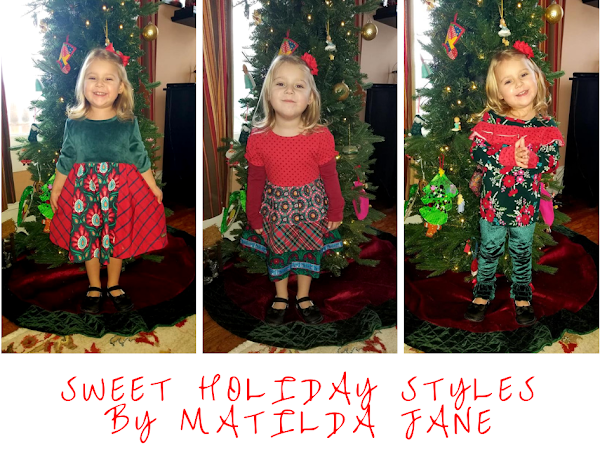 Sweet Holiday Style for Your Little Sweeties by Matilda Jane #MBPHGG18