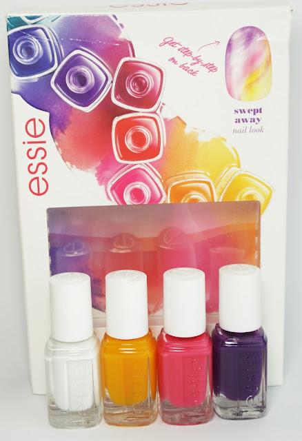 Essie - Silk Watercolor (Swept Away - Set)