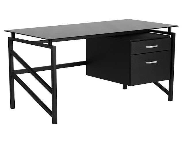 best buy home office with black desk modern for sale