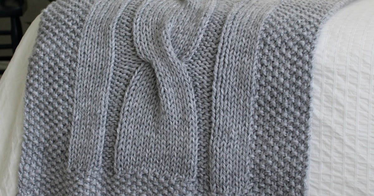 Fifty Four Ten Studio: River of Dreams - New Chunky Cable Bed Runner ...