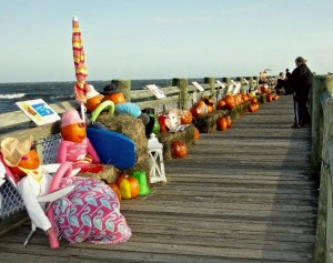Pumpkins on the Pier_Milford CT_New England Fall Events _ Jack o Lantern Display
