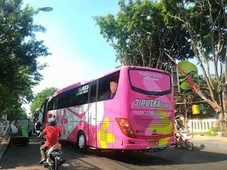 Sewa Bus Pariwisata PO. 3 Putra Surabaya