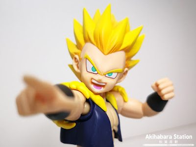 Super Saiyan Gotenks de Dragon Ball Z - Tamashii Nations