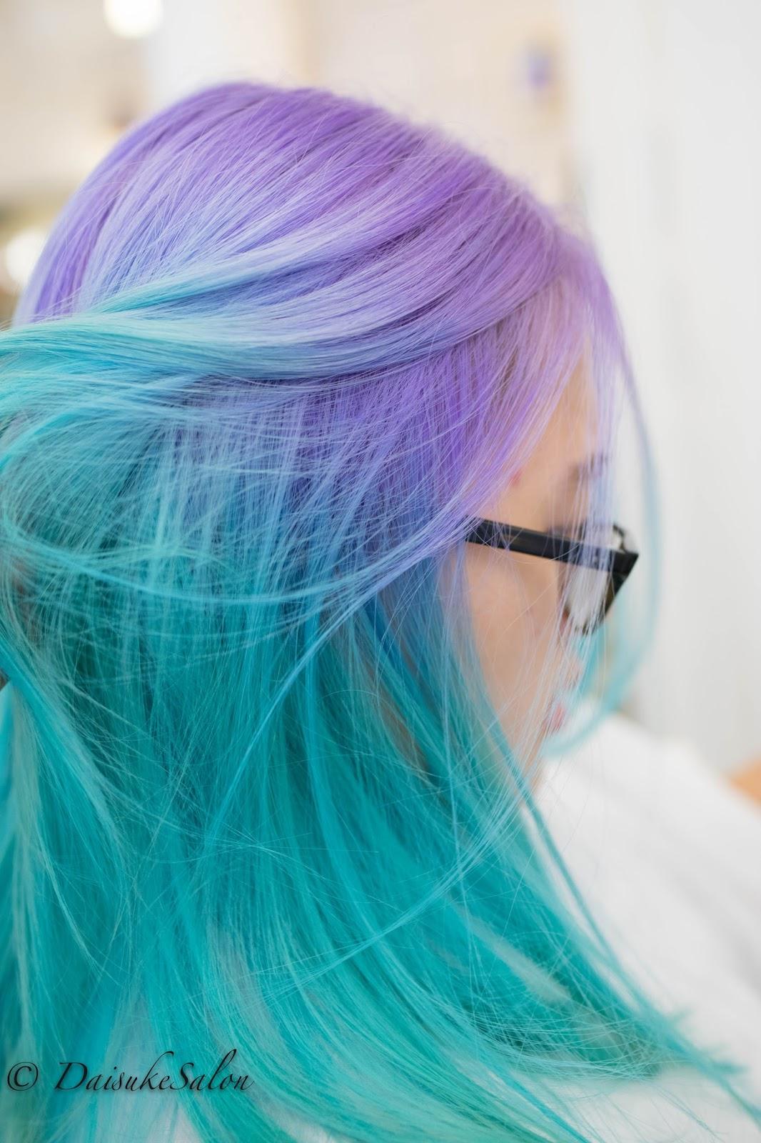Breathtaking Mermaid Hair Color Unicorn Rainbow By Linh Phan The Braid Is Gorgeous