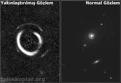 teleskop ile kara delik gözlemi