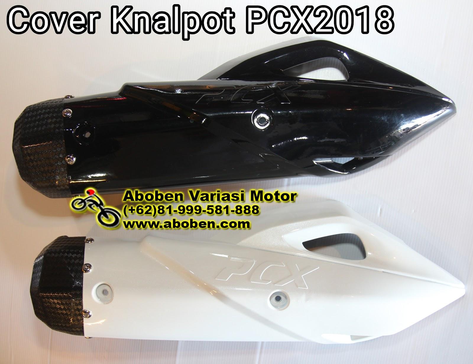 Cover Knalpot Vario 150 Pelindung Tutup Pcx 2018 Lokal