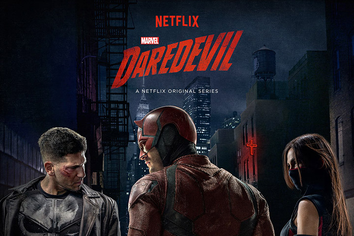 Punisher di Season 2 Daredevil