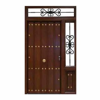 Puerta rustica Avila