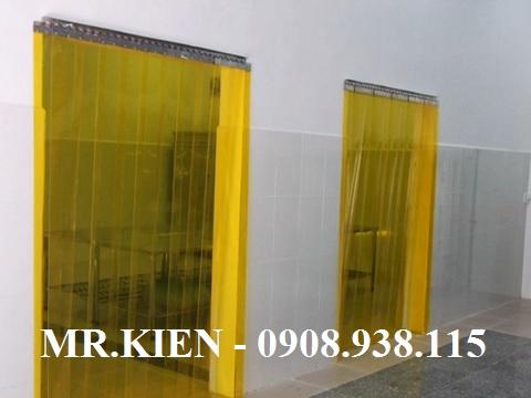 Rèm cửa nhựa PVC chống côn trùng Nhà Máy Ếch Vàng - Gorden Frog