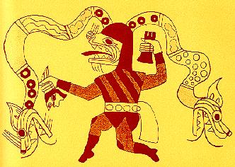 Pintura de la cultura Moche o Mochica