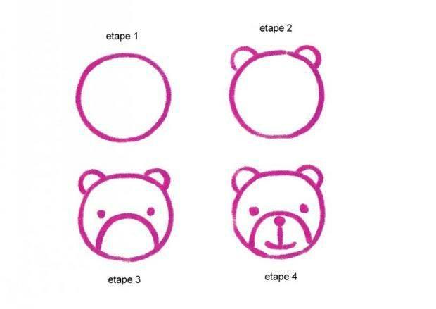 Cara Menggambar Beruang Untuk Anak-Anak