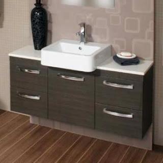 Modecor Vanity Units: Vanity Units - Wall Mounted - Semi Recessed