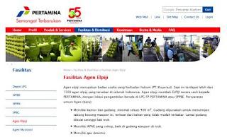 daftar alamat gudang pangkalan agen lpg mitra pertamina region III