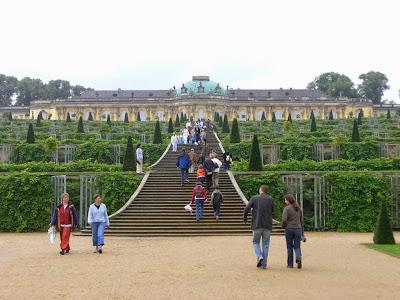 Palacio de Sans-Souci en Potsdam