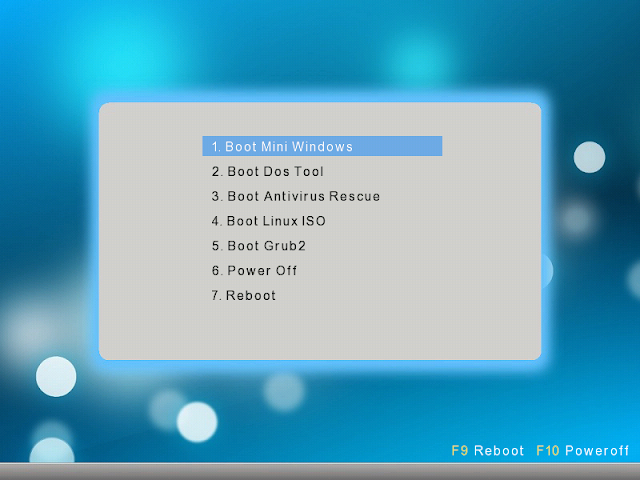 Chia sẻ 1 click tạo USB Multiboot by Anhdv hỗ trợ Legacy-UEFI v1.2