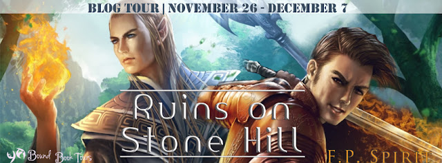{Excerpt+Giveaway} RUINS ON A STONE HILL by F.P. Spirit