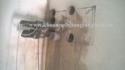Khoan cắt bê tông tại huyện Bình Chánh