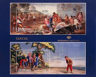 TAPICES. EL JUEGO DE LA PELOTA S.XVIII Y JUEGO DE BOLOS S.XVIII