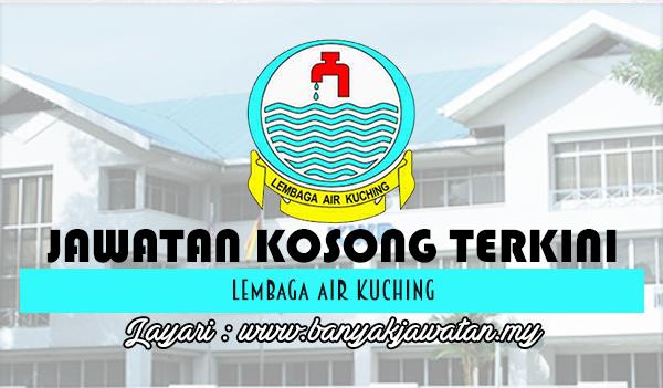 Jawatan Kosong 2017 di Lembaga Air Kuching www.banyakjawatan.my