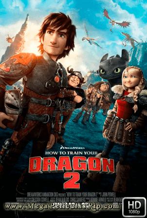 Como Entrenar A Tu Dragon 2 [1080p] [Latino-Ingles] [MEGA]