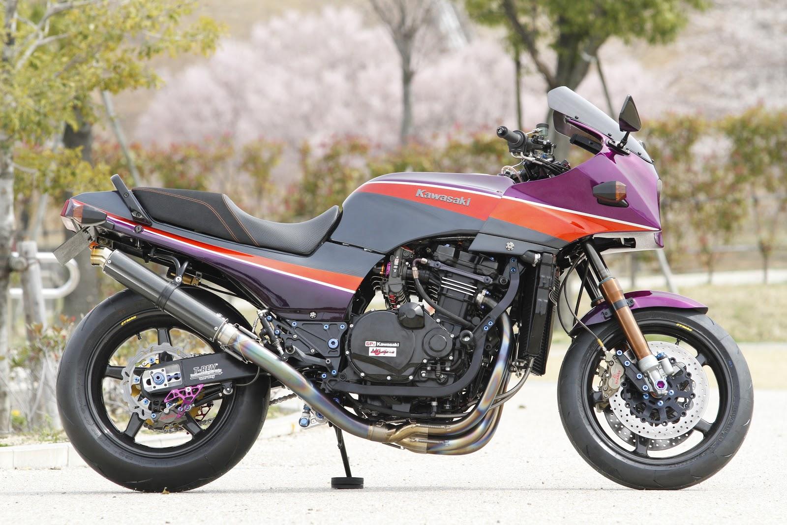 Racing Cafè: Kawasaki GPZ 900 R by Shabon Dama