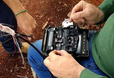 Iretama: Empresa de Internet teve seus cabos de fibra ótica cortados