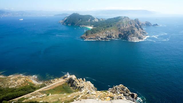Vistas las Islas Cíes