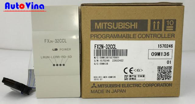 Đại lý bán Module CC-Link Mitsubishi FX2N-32CCL