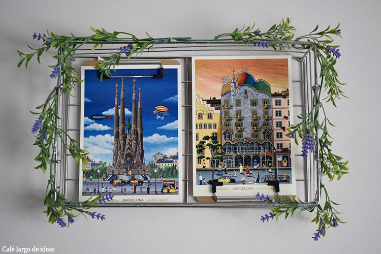marco de fotos reciclado