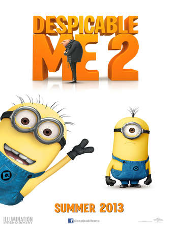 Despicable Me 2 2013 Hindi Dual Audio BRRip Full Movie Download