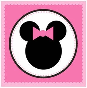 graphic relating to Minnie Mouse Printable known as Minnie Mouse: Cute No cost Printable Bash Package. - Oh My Fiesta
