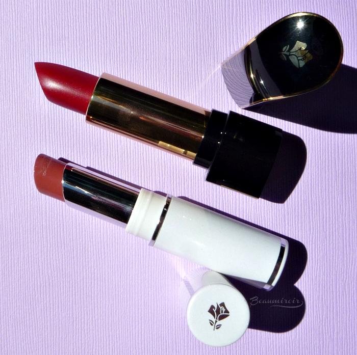 Lancome lipstick L'Absolu Rouge Definition Le Sepia & Shine Love Twisted Beige