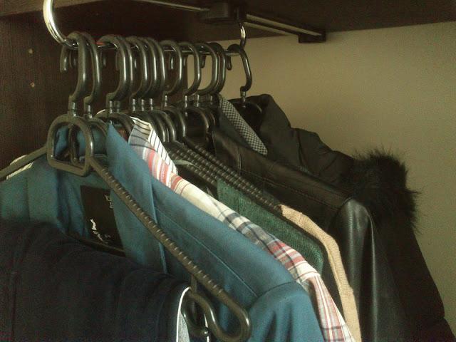 KonMari metoda - vješanje odjeće