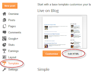 how to remove credit links in blogger templates
